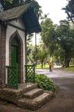 Leute auf Luz Public Park Lizenzfreie Stockbilder
