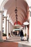 Leute am Barberino-Ausgang, Italien lizenzfreie stockfotos