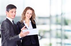 Leute bei der Arbeit während Lizenzfreies Stockfoto