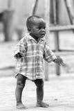 Leute in Benin, in Schwarzweiss Lizenzfreie Stockfotos