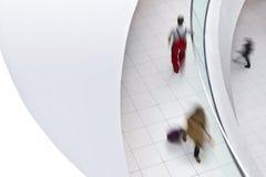 Leute in Bewegung Lizenzfreie Stockfotografie