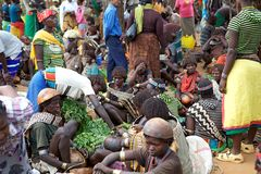 Afrikanischer Markt Lizenzfreies Stockbild