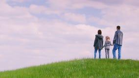 Vater Und Tochter Haben Nachmittags Im Pov Spaß