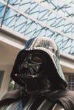 Leute der 501. Legion nehmen an der Star Wars-Parade in Mila teil Stockfotografie