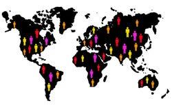 Leute der Welt stock abbildung