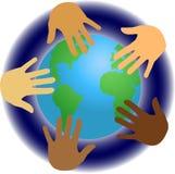 Leute der Welt/ENV stock abbildung