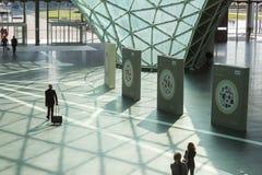 Leute, die HOMI, Ausgangsinternationales Zeigung in Mailand, Italien besuchen Lizenzfreies Stockfoto