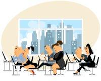 Leute, die im Büro arbeiten Lizenzfreies Stockfoto