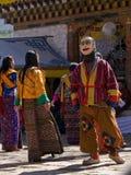 Leute, die traditionelle Kleidung an einem Festival tragen Lizenzfreie Stockbilder