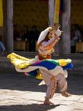 Leute, die traditionelle Kleidung an einem Festival tragen Lizenzfreies Stockfoto