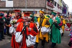 Leute an einem Karneval in Köln Lizenzfreies Stockbild