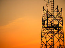 Leute entfernen Antenne Lizenzfreies Stockfoto