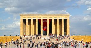 Leute feiern am 19. Mai Gedenken von Ataturk Lizenzfreies Stockfoto
