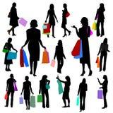 Leute - Frauen kaufenNo.2. Lizenzfreies Stockfoto
