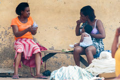 Leute in GHANA Lizenzfreies Stockfoto
