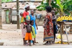 Leute in GHANA Stockfotografie