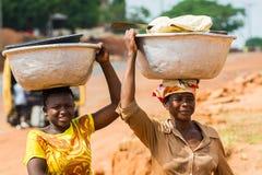 Leute in GHANA Stockfoto