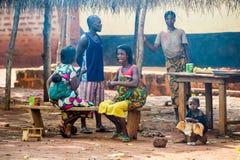 Leute in GHANA Stockbild