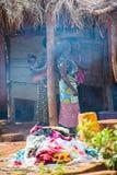 Leute in GHANA Lizenzfreies Stockbild