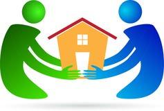 Leute-häusliche Pflege Lizenzfreies Stockfoto