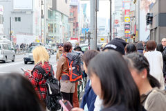 Leute in Harajuku Stockbilder