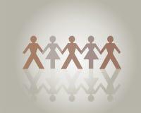 Leute-Holding-Hände Stockbilder