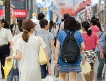 Leute im Einkaufszentrum Stockfoto