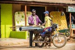 Leute im PORTO-NOVO, BENIN Lizenzfreie Stockfotografie