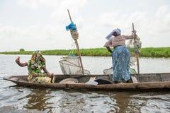 Leute im PORTO-NOVO, BENIN Stockfotos