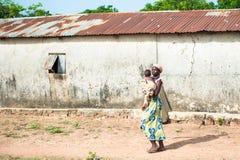 Leute in Kara, TOGO Stockfotografie
