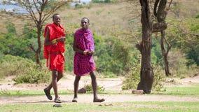 Leute in Kenia Stockfoto