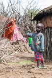 Leute in Kenia Stockfotos