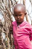 Leute in Kenia Stockfotografie