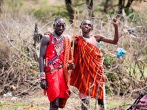 Leute in Kenia Lizenzfreie Stockbilder