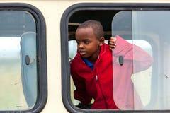 Leute in Kenia, die schwarzen Menschen, die Leben von Leuten in Afrika Stockbilder