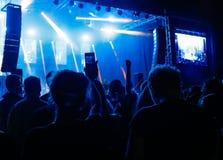 Leute am Konzert Stockbilder