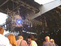 Leute am madonna 's-Konzert lizenzfreies stockbild
