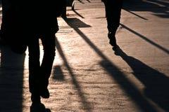 Leute nach Arbeit in Paris Frankreich Lizenzfreies Stockbild