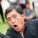 Leute in NORDKOREA Stockfotografie
