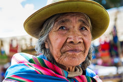 Leute in Peru Lizenzfreie Stockbilder