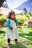 Leute in Peru Lizenzfreie Stockfotos