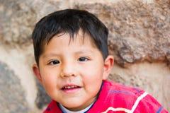 Leute in Peru Stockfotos