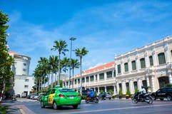 Leute ` s Ausschuss, der Saigon, Ho Chi Minh City Vietnam errichtet Stockfoto