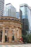 Leute am Schrein der Erinnerung in Perth Stockfotografie