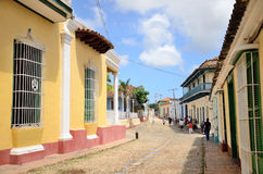 Leute in Trinidad, Kuba Lizenzfreies Stockbild