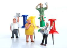 Leute und Beruf Stockfotos