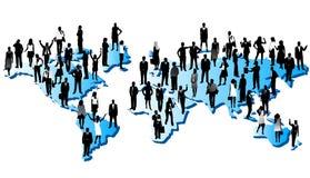 Leute und Welt Lizenzfreies Stockfoto