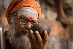 Leute | Varanasi Lizenzfreie Stockbilder