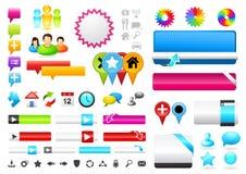 Leute verbundene Symbole stock abbildung