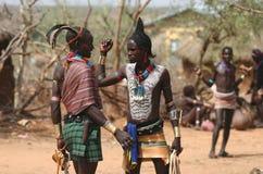 Leute von Afrika Lizenzfreies Stockfoto
